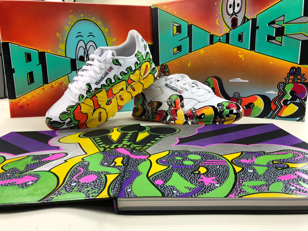 6fe5c06883 All custom sneakers are going to be displayed on a commemorative stand and  available for purchase. A huge thanks to The Etch Pros in Tampa for getting  these ...