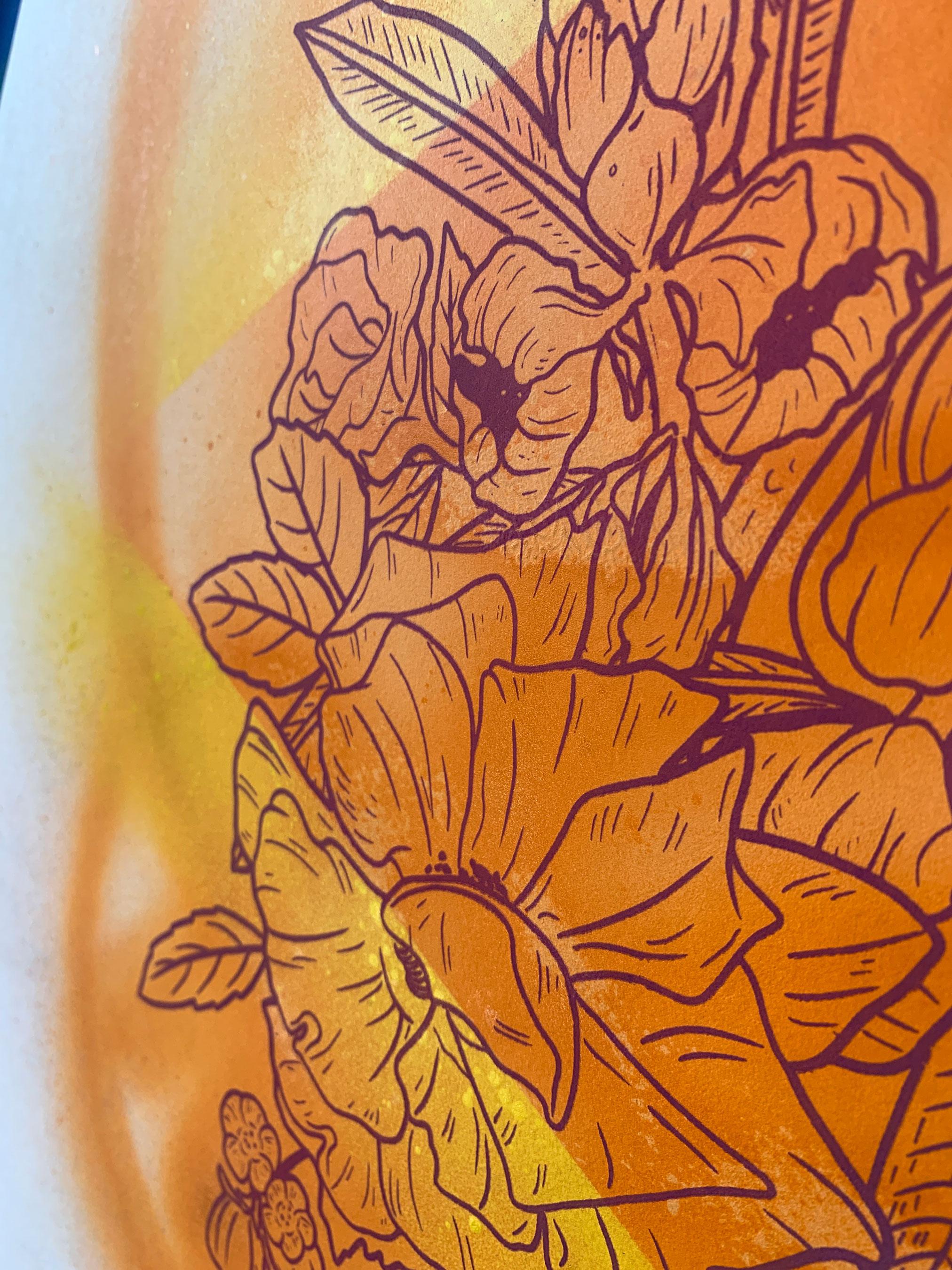 Inflorescence Print Release Illsol